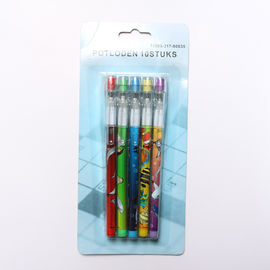 China 9 Leads Non - Sharpening Bullet Pencil Kit Easter Plastic Bullet Pencil For Kids supplier