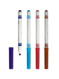 Promotional Colored Washable Ink Fabric Medium Textile felt tip marker pen